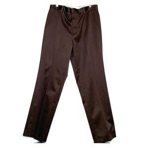 NWTs DOCKERS • Dark Brown Classic Chino Flat Pants